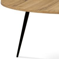 Konferenční stolek BURGOS dub divoký/černá 4