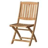 Skládací židle CAMBRIDGE 1 teakové dřevo 1