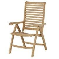 Polohovací židle  CAMBRIDGE PREMIUM teakové dřevo 1