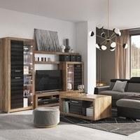 Konferenční stolek  CANCAN ořech satin/touchwood 2