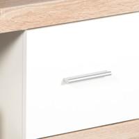 Konferenční stolek  CANCAN dub sonoma/bílá 2