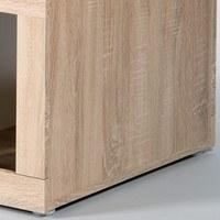 Konferenční stolek  CANCAN dub sonoma/bílá 3