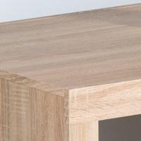 Konferenční stolek  CANCAN dub sonoma/bílá 4