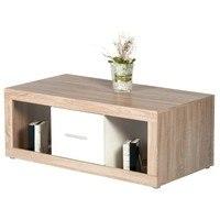 Konferenční stolek  CANCAN dub sonoma/bílá 1