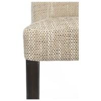 Jedálenská stolička CAPRICE cappucino/tmavohnedá 2