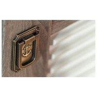 Šatní skříň  CARIBIC krémová/dub sonoma tmavý 4