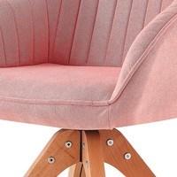 Jídelní židle CHIP I růžová/buk 3