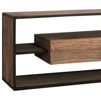 TV stolek CITY přírodní akácie/šedá 3