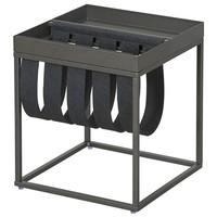 Přístavný stolek CLUB NY antracitová 1