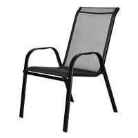 Zahradní židle  CORDOBA 1 antracit/černá 1
