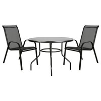 Záhradný stôl CORDOBA 3 čierna 2