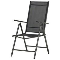 Polohovacia stolička CORDOBA 5 čierna/antracit 1
