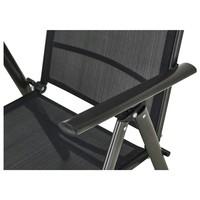 Polohovacia stolička CORDOBA 5 čierna/antracit 5