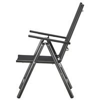 Polohovacia stolička CORDOBA 5 čierna/antracit 8