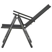 Polohovacia stolička CORDOBA 5 čierna/antracit 9