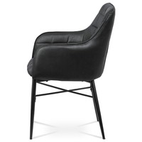 Jídelní židle DAMIRA černá 3
