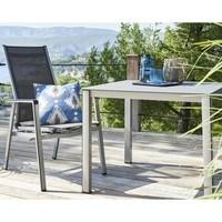 Zahradní stůl  ELEMENTS 2 stříbrná/antracit 2