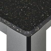Zahradní stůl  ELEMENTS 2 stříbrná/antracit 5