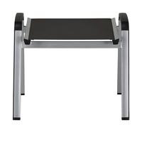 Zahradní stolička ELEMENTS stříbrná/antracit 3