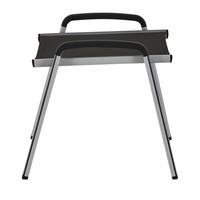 Zahradní stolička ELEMENTS stříbrná/antracit 4
