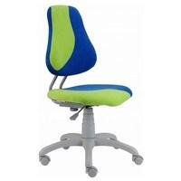 Dětská židle ELEN S-LINE modro-zelená 2