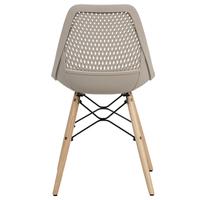 Jedálenská stolička ELODY cappuccino 5