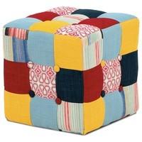 Taburet ELZA patchwork 1