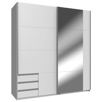 Šatní skříň EMDEN bílá 1