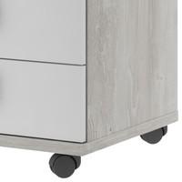 Noční stolek EMMET pinie cascina/bílá 4