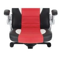 Kancelářská židle  ESTER červená/černá 3