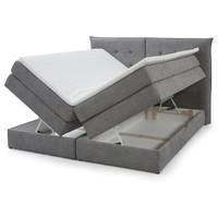 Posteľ boxspring FENDY sivá,180x200 cm 3