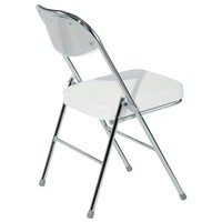 Skladacia stolička FLORIAN sivá 4