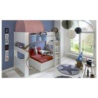 Rozkladacia posteľ s perinákom FOR KIDS 631 biela, 75x180 cm 5