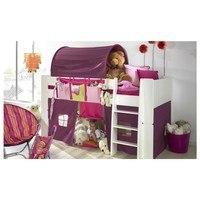 Textilní domeček FOR KIDS růžová 2