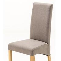 Jídelní židle  FOXI přírodní buk/šedá 2