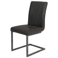 Jedálenská stolička FRANZISKA S antracitová 1