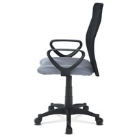 Kancelářská židle FRESH šedá/černá 3