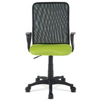 Kancelářská židle FRESH zelená/černá 2