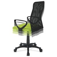 Kancelářská židle FRESH zelená/černá 5