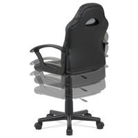 Kancelářská židle FRODO černo-červená 5