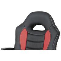 Kancelářská židle FRODO černo-červená 6