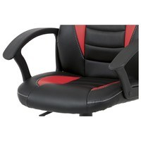 Kancelářská židle FRODO černo-červená 7