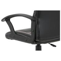Kancelářská židle FRODO černo-červená 9