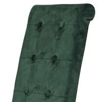 Jedálenská stolička FUCHSIA zelená/čierna 2