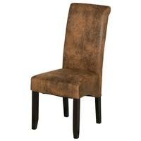 Jídelní židle GASPARO hnědá 1