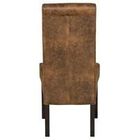 Jídelní židle GASPARO hnědá 2