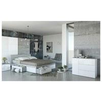 Komoda GAVERA bílá/beton 2