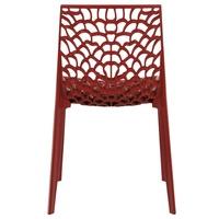 Jedálenská stolička GENESIS červená 4