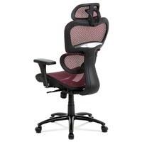 Kancelářská židle GERRY červená 4
