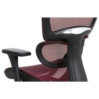 Kancelářská židle GERRY červená 17